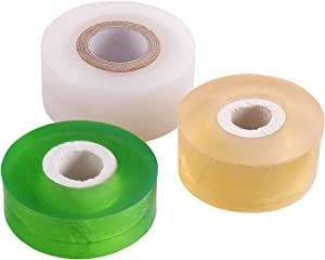 NAYE Grafting Tape for Fruit Trees,3 Pcs Stretchable Floristry Film,3 Color with Various Elasticity,Plants Repair Budding Tape