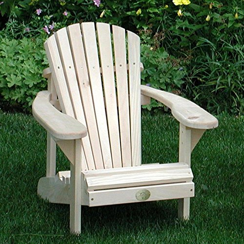 The Bear Chair Kid's Moskoka/Adirondack Chair Pine For Sale