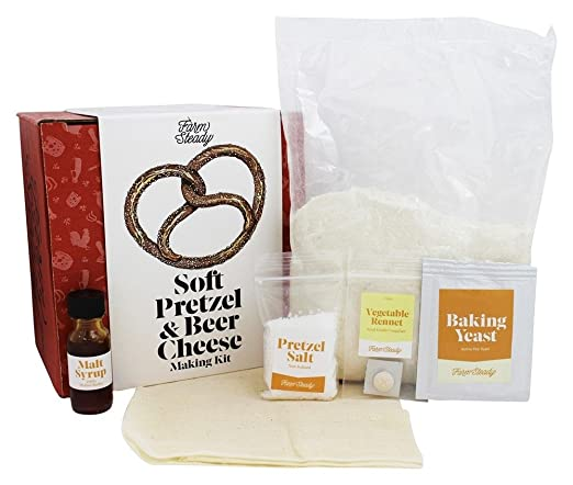Farm Steady - Soft Pretzel and Beer Cheese Making Kit