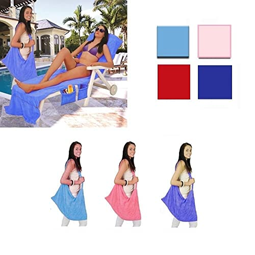 Beach Blanket Amazon Uk: THE ITSA Holiday Sun Lounger Cover / Bag