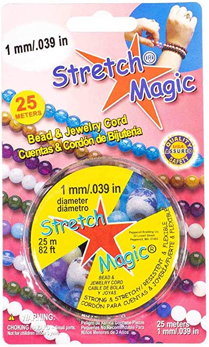 25 metres Stretch Magic 0.7mm Bead /& Jewellery Cord