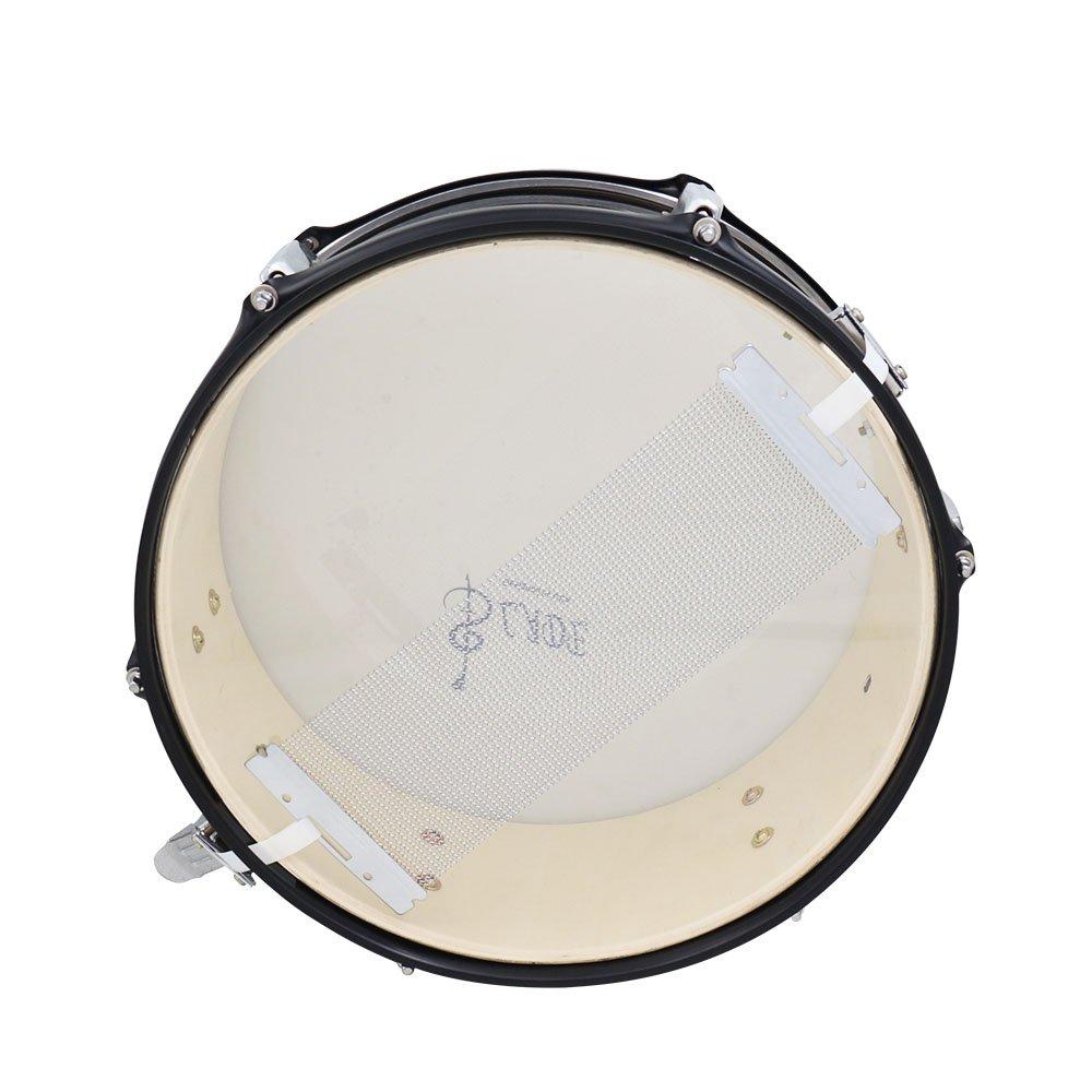 ammoon Acciaio Snare filo 40/filo del Tamburo della piuma per 14/pollici Snare Drum Cajon Box Drum