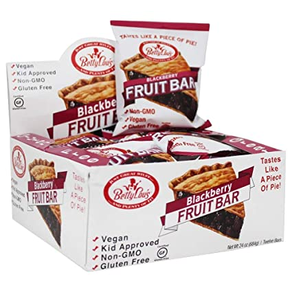 Betty Lous - Barras De Frutas Caja Sin Gluten Blackberry ...