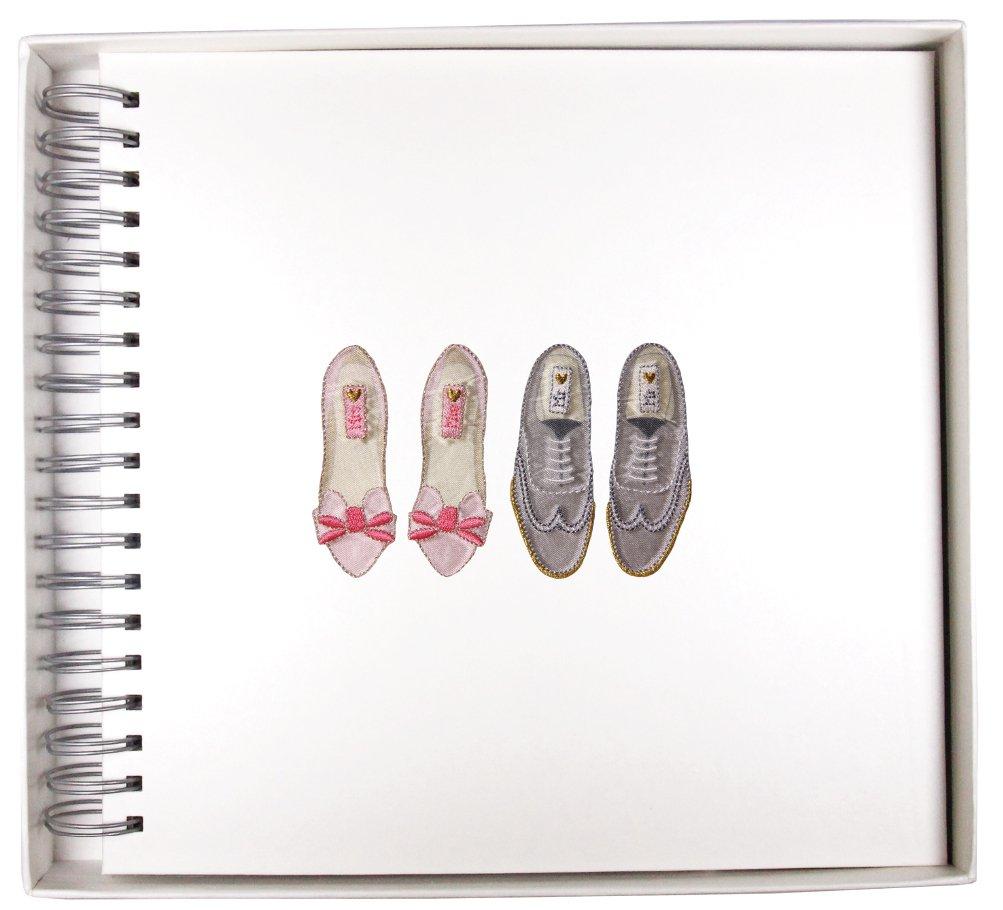 Boda zapatos recuerdos de espiral libro de recuerdos zapatos 05a4f2