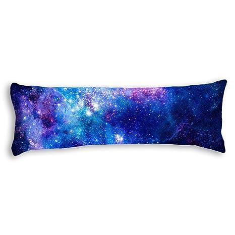 Amazon.com: UTF4C Colorido rosa azul Galaxy Nebula patrón ...