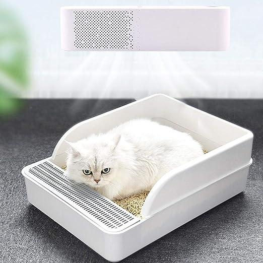 Letway Purificador de Aire Purificador de Aire Dander para Mascotas Desodorizador Inteligente para Mascotas Elimina los alérgenos Olores Polvo para Las alergias en el hogar Mascotas Right: Amazon.es: Hogar