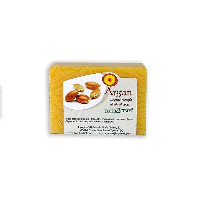 Jabón de Argàn - Jabonería Artesanal - jabones elaborados en frío - No contienen colorantes, conservantes químicos, tensioactivos y parabenos - 100% ...