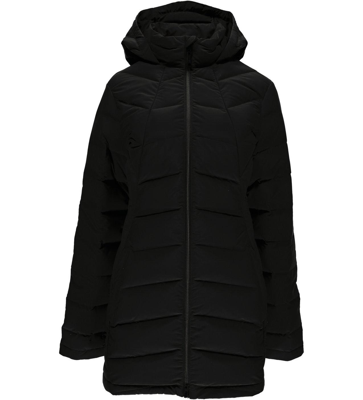 Black Spyder Women's Syrround Long Down Jacket