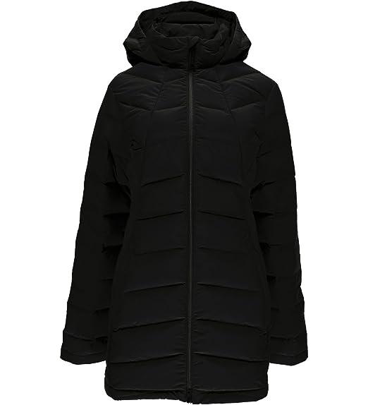 acf8bd26b Amazon.com: Spyder Women's Syrround Long Down Jacket: Clothing