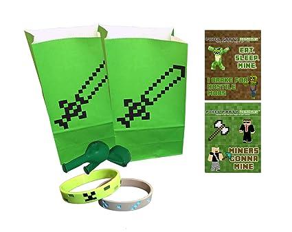 Pixel Miner, manualidades fiesta de cumpleaños juegos de ...