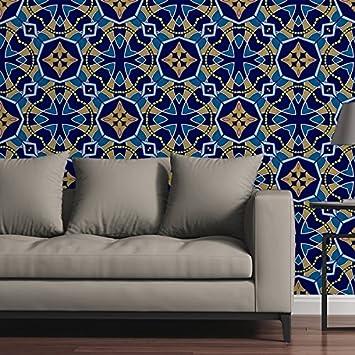 Circle Art Group Removable Wallpaper Tile