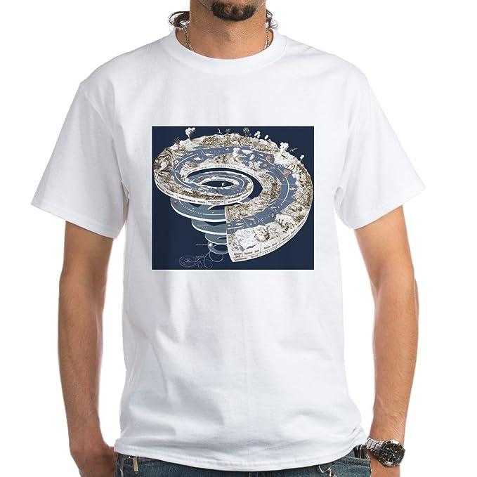37267776f Amazon.com: CafePress Geological Time White T-Shirt Cotton T-Shirt ...