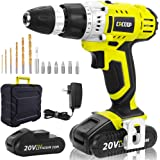 CACOOP Cordless Drill Driver 20V Power Drill Kit