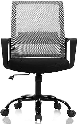 Ergonomic Office Chair Desk Chair Computer Chair Mid Back Mesh Chair