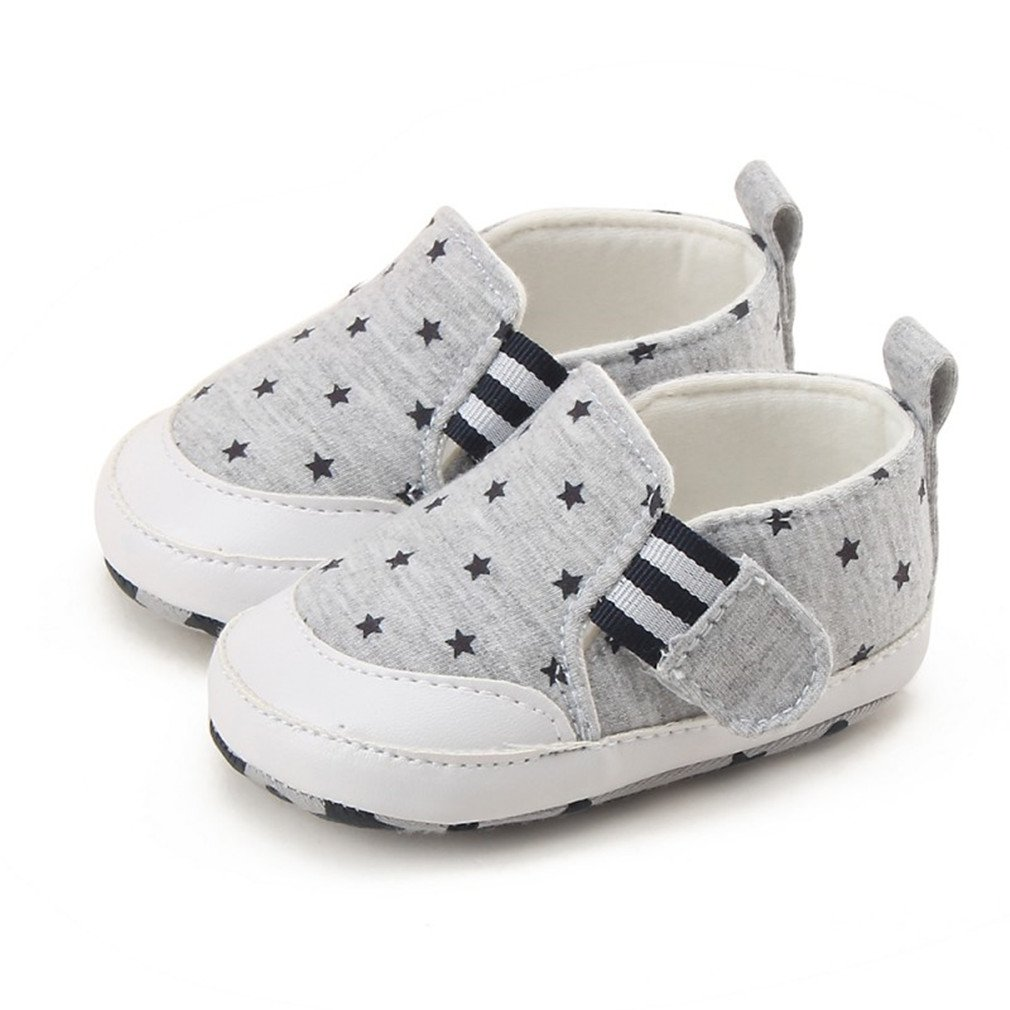 Summer Baby Shoes Anti-Slip Star Printed Soft Bottom Sneakers Boy First Walkers