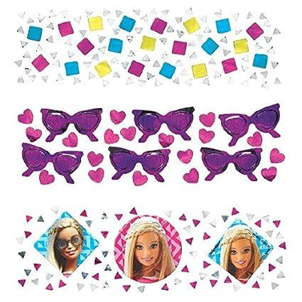 Amazon.com: Barbie Sparkle Fiesta de cumpleaños Confeti Mix ...