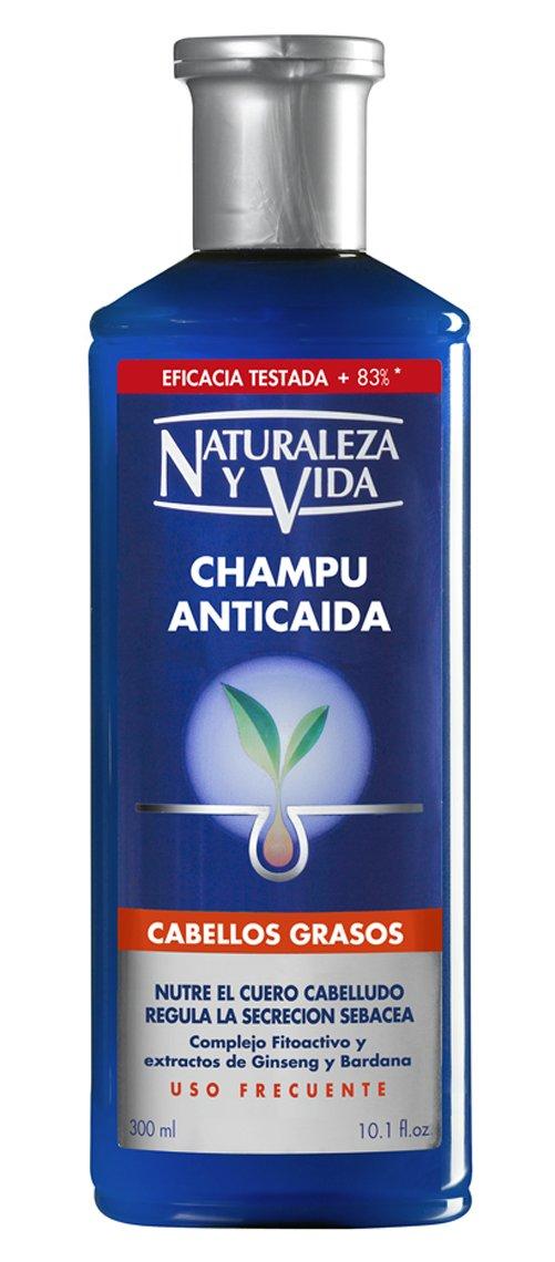 Amazon.com: Champu ANTICAIDA cabello graso 300 +100 ml: Health & Personal Care