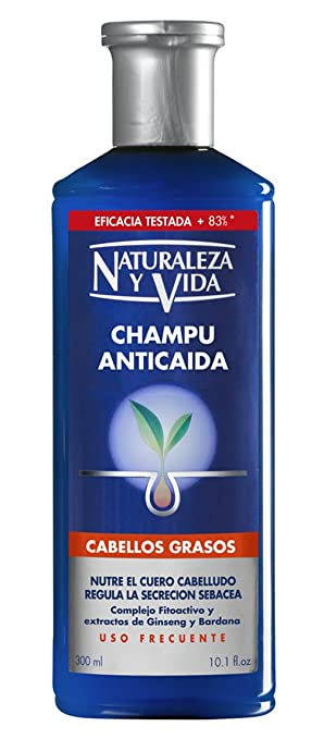 Champu ANTICAIDA cabello graso 300 +100 ml