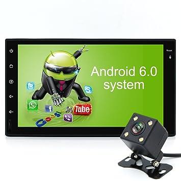 "Junsun 7"" Estéreo del Coche 2 Din con Procesador Quad Core Android 6.0 GPS Navegador"
