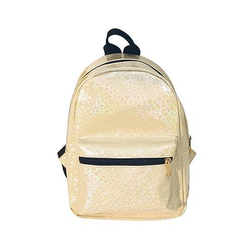 9febecc5159aa 🌹Mode Frauen Mädchen Laser Rucksack VENMO Süßigkeiten Farbe Reise Rucksack  Schultasche Bestickt Taschen Frauen Umhängetasche