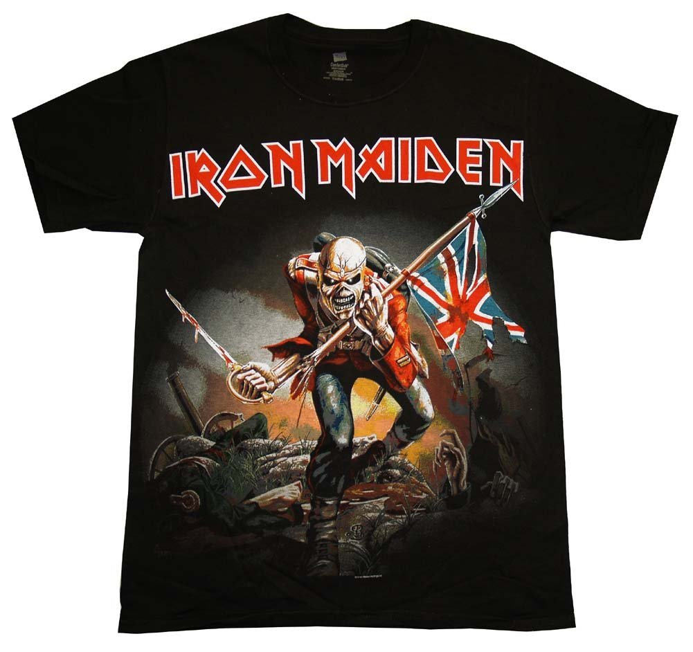 Itude Iron Maiden Trooper Eddie T Shirt 4t 1201