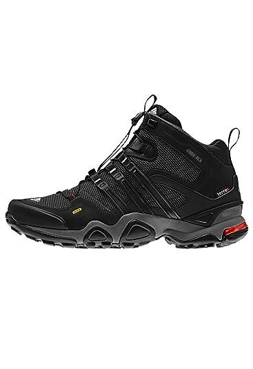 Schwarz Frauen Schuhe adidas Terrex Fast X Mid GTX