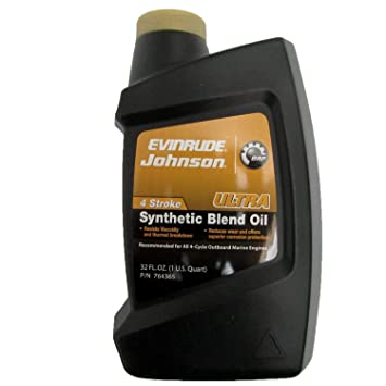 Amazon.com: OMC Johnson Evinrude Ultra Aceite sintético de ...