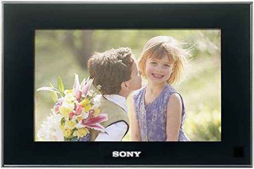 Sony DPF-D72N BQ 7-Inch LCD Digital Photo Frame Black