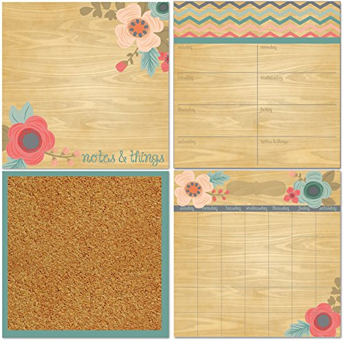 Tone Weekly (Wall Pops WPE1589 Meadow Organization Kit)