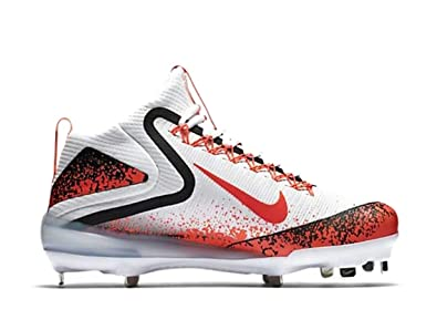 sneakers for cheap d2e99 3ffcc Image Unavailable. Image not available for. Color  Nike Zoom Trout 3  Baseball Cleats 856503-188 White hot Lava Black Size 12