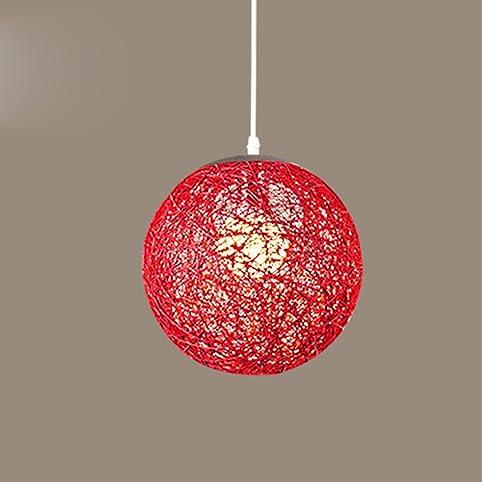 einfache einfache tengyi hanf kronleuchter wohnzimmer balkon restaurant pferde kugel lampe schlafzimmer vogelnest lampe rot - Einfache Kronleuchter Fuer Schlafzimmer