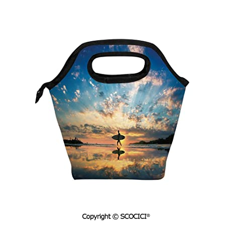 Bolsa de almuerzo portátil con diseño de tortuga marina con ...
