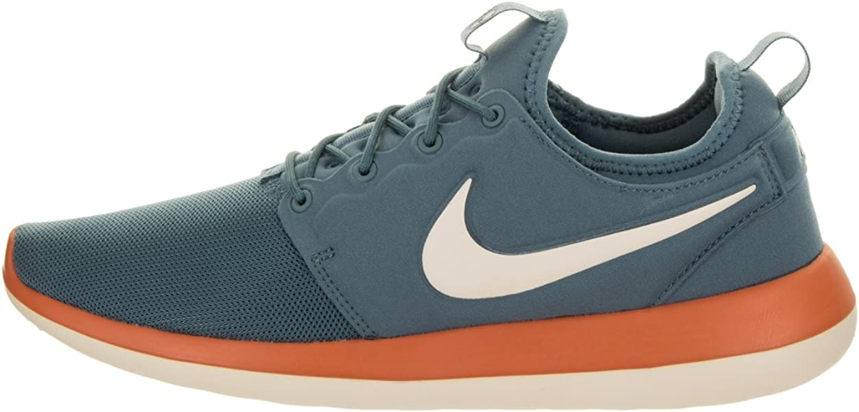 981b6b580bb35 Mens Mens Roshe Two Running Shoes Low Top Lace Up Trail, Blue, Size 8.5