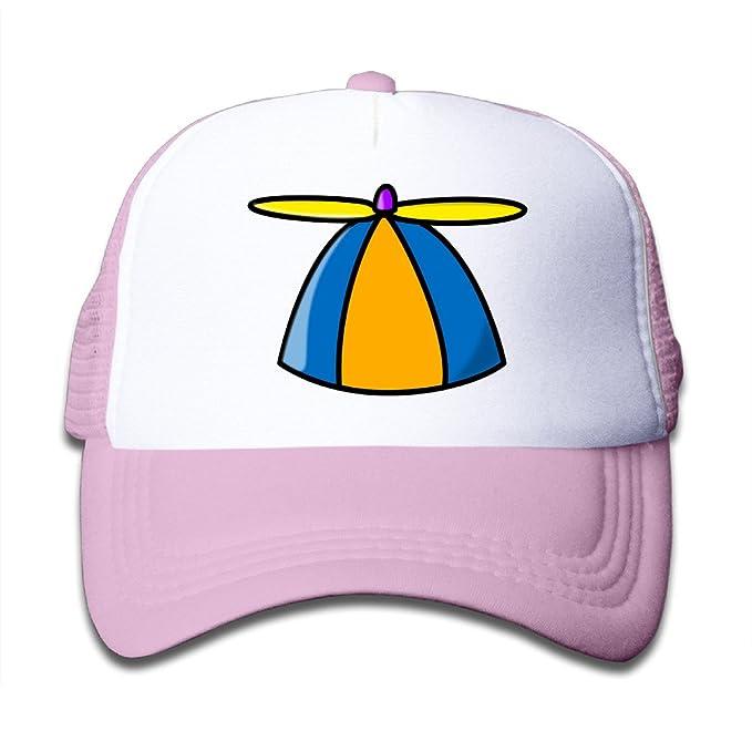 Duoduo Propeller Hat Children s Custom Grid Cap Adjustable Baseball ... 324d178e7ab