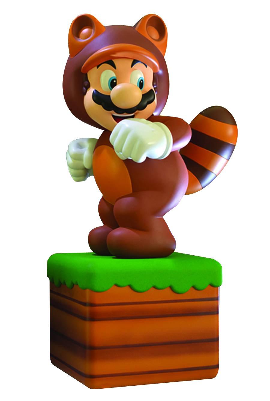 First 4 Figures Super Mario 3D Land: Tanooki Suit Mario Statue
