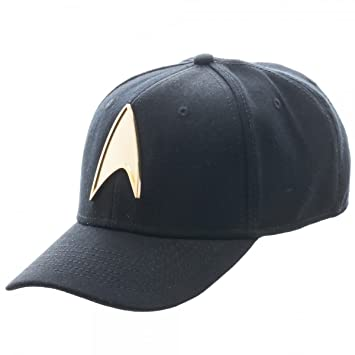 b474575c2e Star Trek Metal Badge Flex Fit Baseball Cap  Amazon.ca  Sports   Outdoors