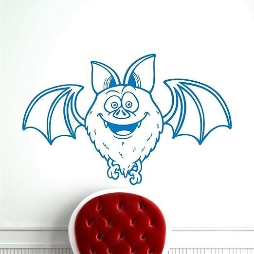 yaoxingfu Dibujos Animados Murciélago Tatuajes de Pared Animal ...