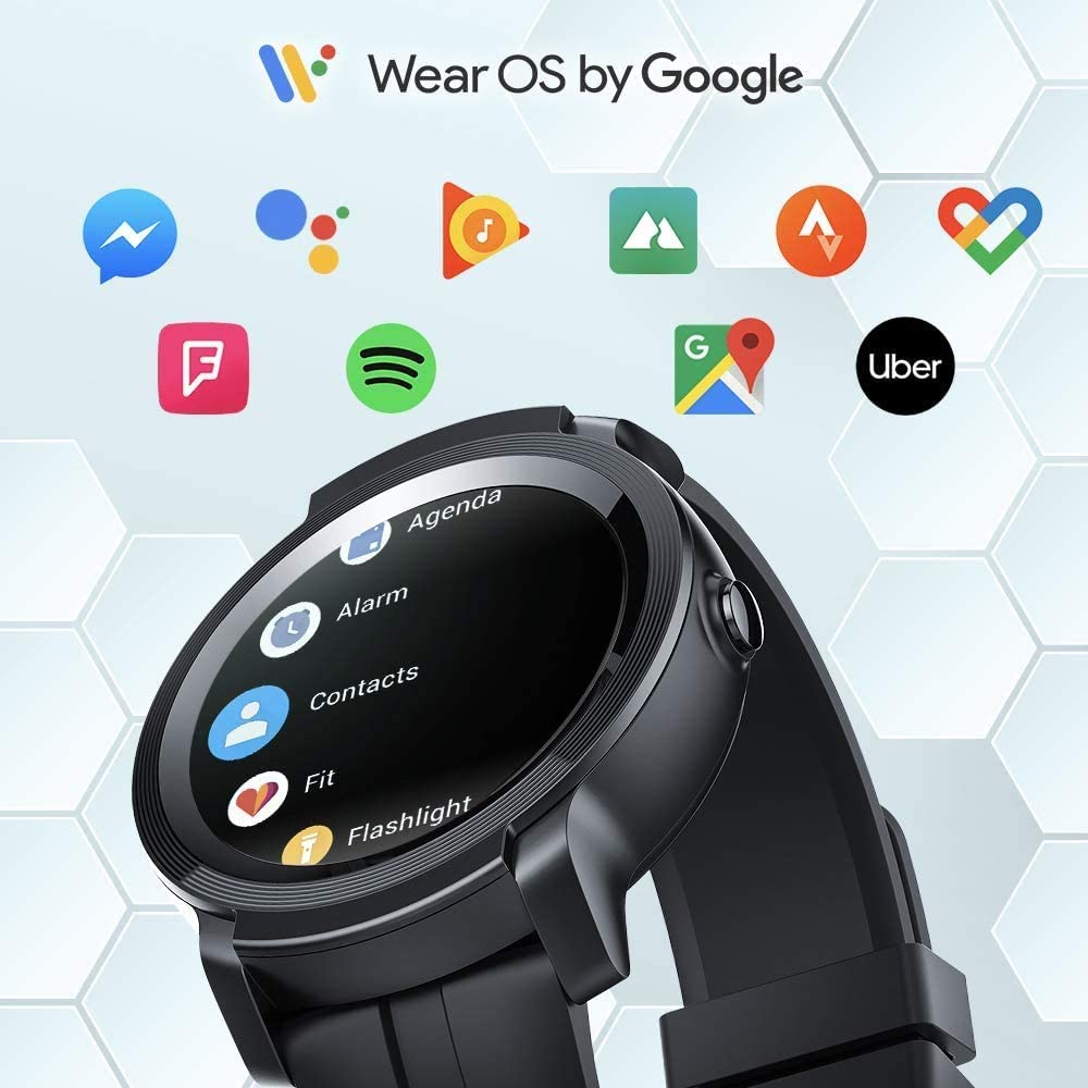 Ticwatch E2 Wear OS Google