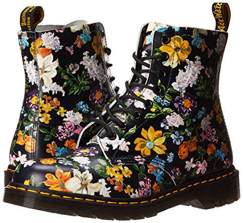 Backhand Botas Dr Pascal Negro Mujer Martens Floral Darcy Noir qXw6fXP