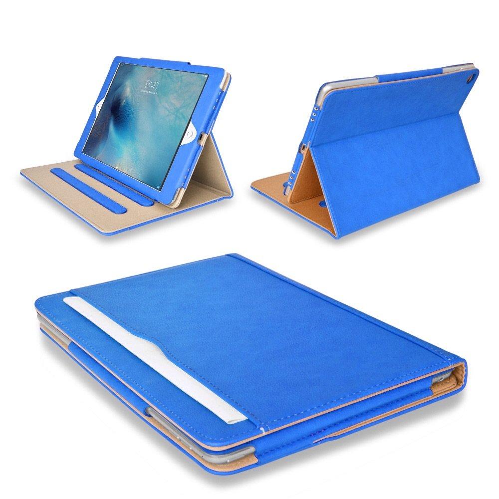 Mofred /Étui en Cuir Multifonction pour Apple iPad avec Fonction de Mise en Veille Automatique