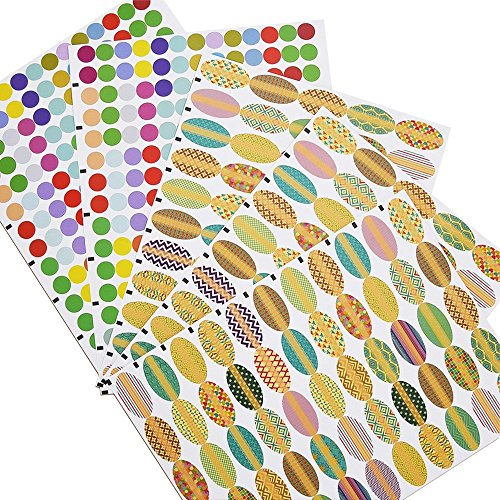 Mudder Waterproof Essential Stickers Oval shaped