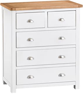 The Furniture Outlet Portland White Painted Oak Dressing Table