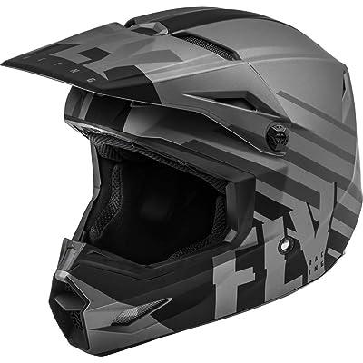 Fly Racing 2020 Kinetic Helmet - Thrive (X-Large) (Matte Dark Grey/Black): Automotive