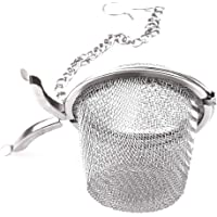 VWH Stainless Steel Mesh Tea Filter Seasoning Sphere Locking Ball Spice Strainer Tea Filter