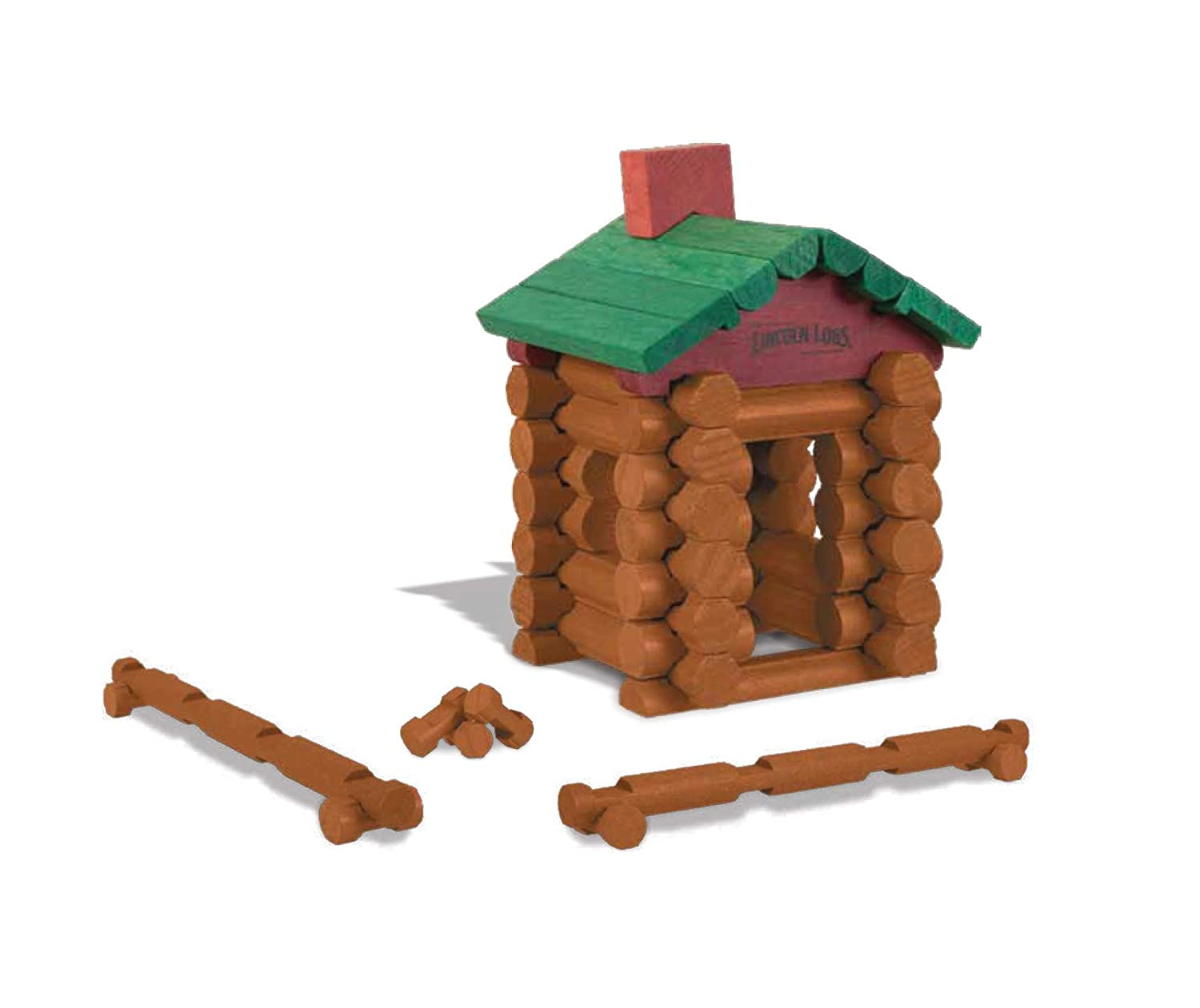 768502268232 Amazon.com  World s Smallest Lincoln Logs  Toys   Games