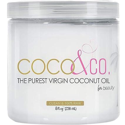 Amazon.com: Aceite de coco para cabello y piel por COCO& ...