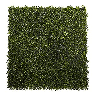 Nearly Natural Set of 12 Boxwood Mats, Green (B015HHVSJC) | Amazon price tracker / tracking, Amazon price history charts, Amazon price watches, Amazon price drop alerts