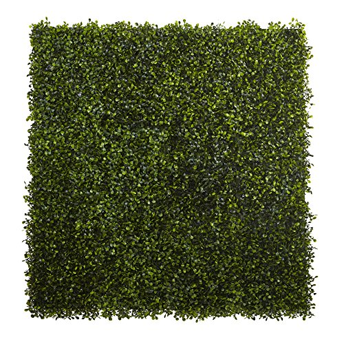 Boxwood Mat - Nearly Natural Boxwood Mat (Set of 12), 12