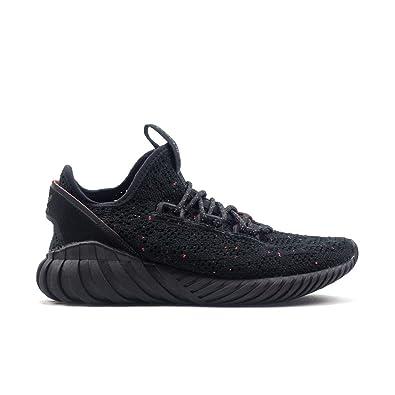 adidas Tubular Doom Sock Primeknit Big Kid's Shoes Core Black bz0330 (4 M  ...