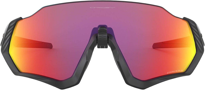 Oakley Men's Oo9401 Flight Jacket Shield Sunglasses Rectangular